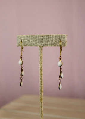 Ginu Ginu Circle Drops Round Earrings