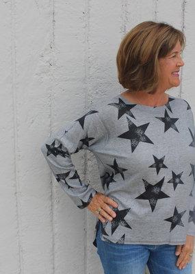 Nally & Millie Star Long Sleeve Top