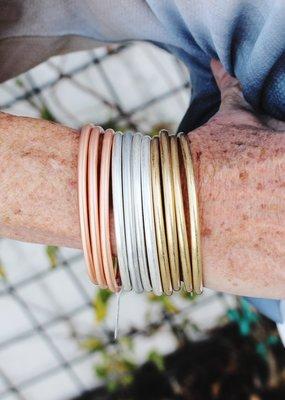 Alex Carol Jewelry Layering Bracelets