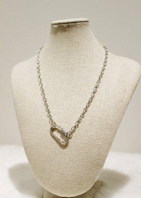 Alex Carol Jewelry Chain Lock Necklace