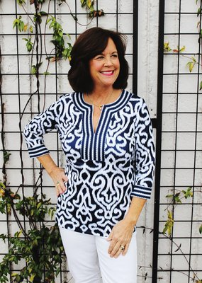 Gretchen Scott Pattern Blouse