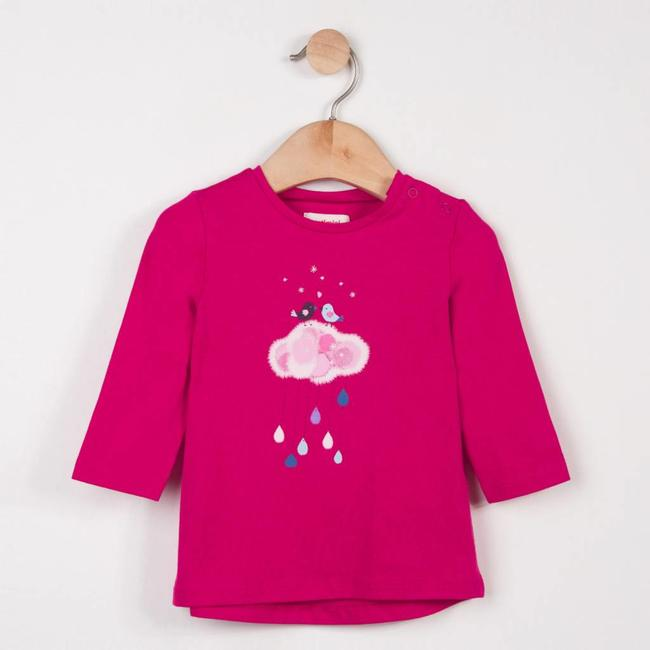 CATIMINI T-SHIRT WITH BIRD MOTIF