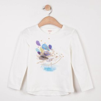 T-SHIRT WITH CHARMING IRIDESCENT PATTERN
