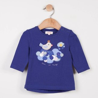 T-SHIRT WITH CUDDLY BIRD MOTIF