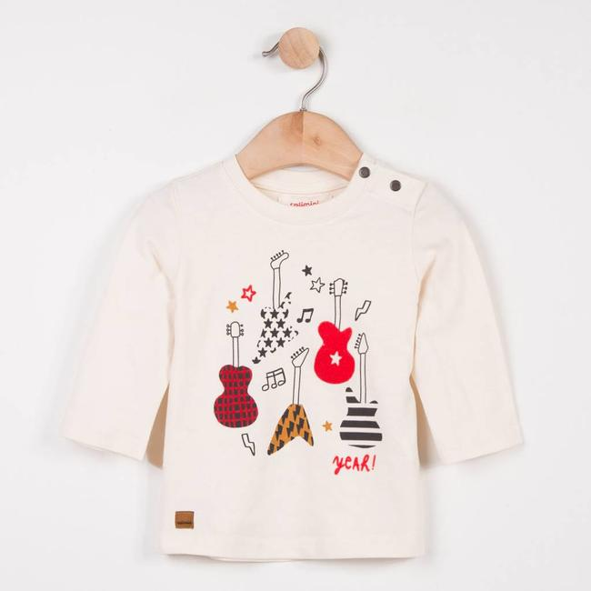 CATIMINI T-SHIRT WITH ROCK MOTIF