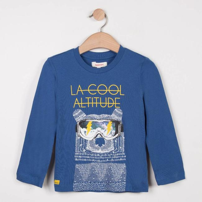 T-SHIRT WITH WINTER MOTIF
