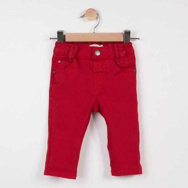 CATIMINI VERMILION DENIM PANTS