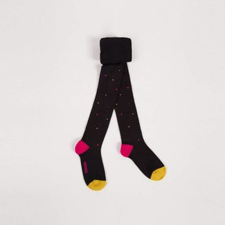 BLACK TIGHTS WITH RHINESTONES AND FANCY STUDS