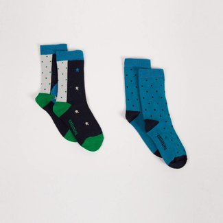 IRIDESCENT AND UNICORN SOCKS (PACK OF 2)
