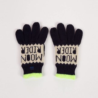 KNITTED JACQUARD GLOVES