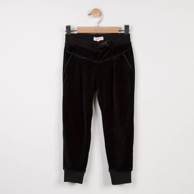 NEO-JOGGING TROUSERS IN CRUSHED VELVET