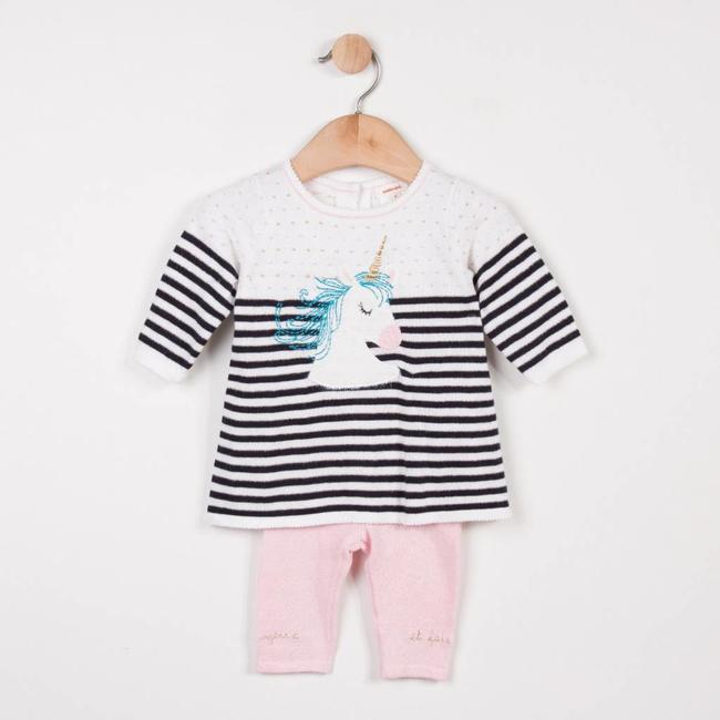 UNICORN PATTERNED KNITWEAR SET