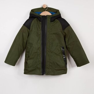 TECH COATED HOODED PARKA