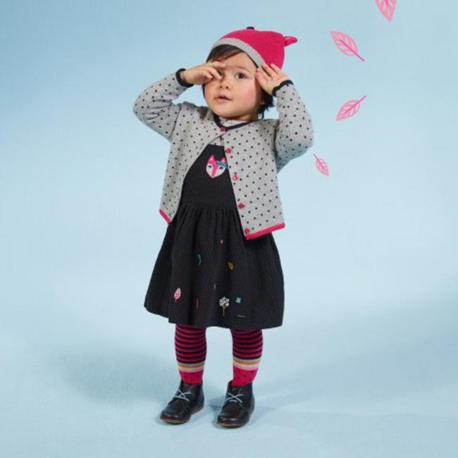 84ab5084580ea PINAFORE DRESS + PRINTED T-SHIRT   Catimini Canada - Kidz Global ...