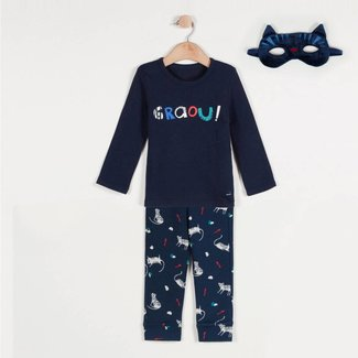PYJAMA BOY 2PIECES WITH TIGER MASK