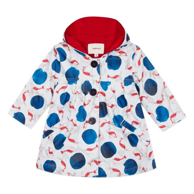 MARINE PRINTED RUBBERISED PARKA