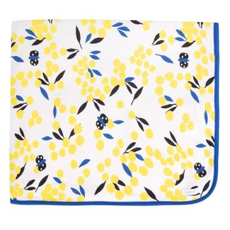 MIMOSA PRINT MICROFLEECE THROW