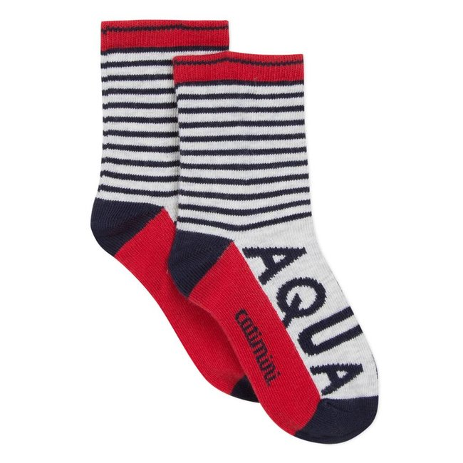 STRIPED SOCKS WITH SAILOR-STYLE STRIPES