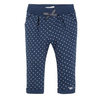 NEO JOGGING PANTS IN SPOTTY PRINTED FLEECE