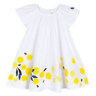 MIMOSA PRINT PERCALE DRESS