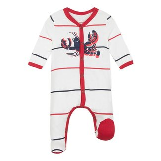 LOBSTER PRINTED JERSEY PYJAMAS