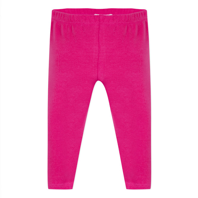 PLAIN FUCHSIA PINK LEGGINGS