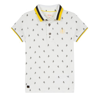 PIQUÉ POLO SHIRT WITH SCOOTER MICROPRINT