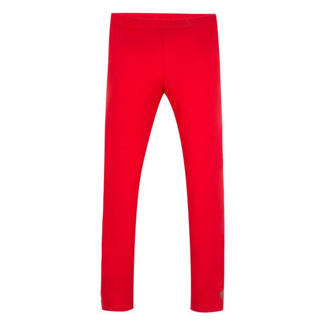 CATIMINI PLAIN RED LEGGINGS
