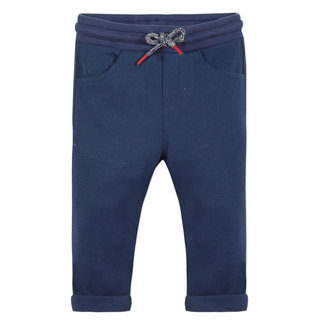 TODDLER NAVY BLUE PIQUÉ BERMUDA SHORTS