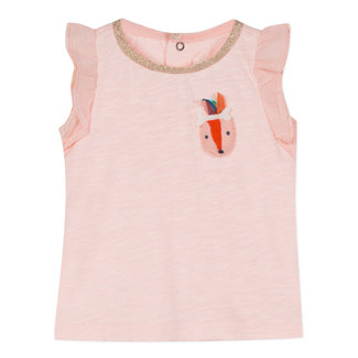 T-SHIRT IN BLUSH-PINK