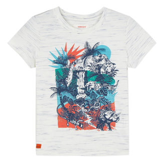T-SHIRT WITH JUNGLE PATTERN