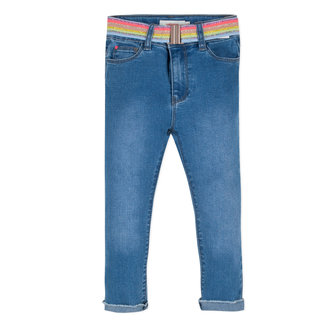 STRETCH DENIM 7/8TH SKINNY JEANS