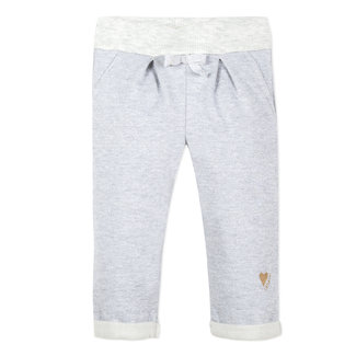 NEO-JOGGING PANTS IN GLITTERY MARL FLEECE