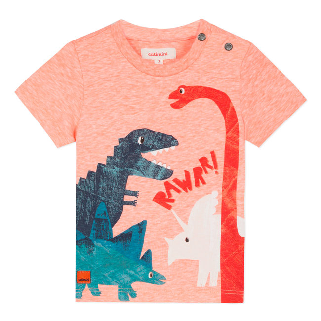 DINOSAUR DESIGN SLEEVELESS TOP