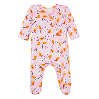 JERSEY PYJAMAS WITH CHERRY PRINT