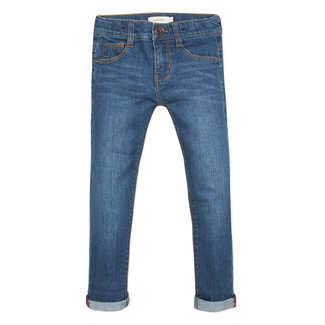 CATIMINI REGULAR FIT STRETCH STONEWASH DENIM JEANS
