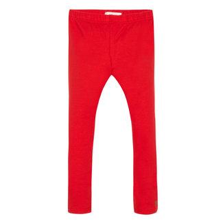 Plain red legging