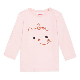 """T-shirt with a """"love"""" face"""