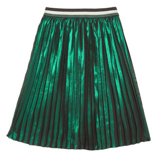 Mid-length pleated skirt