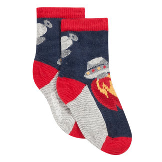 Rocket jacquard socks