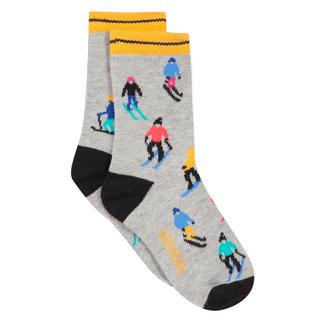 Skiers jacquard socks