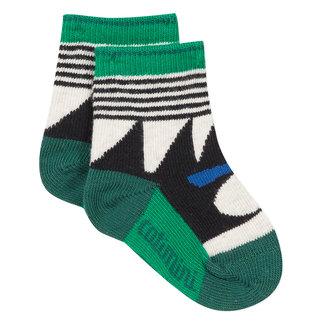 Dog jacquard socks