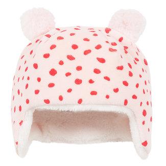 Mini animal skin printed velvet hat