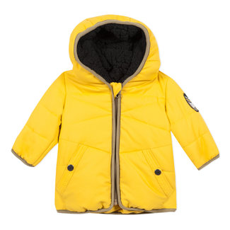 Matt yellow coated jacket