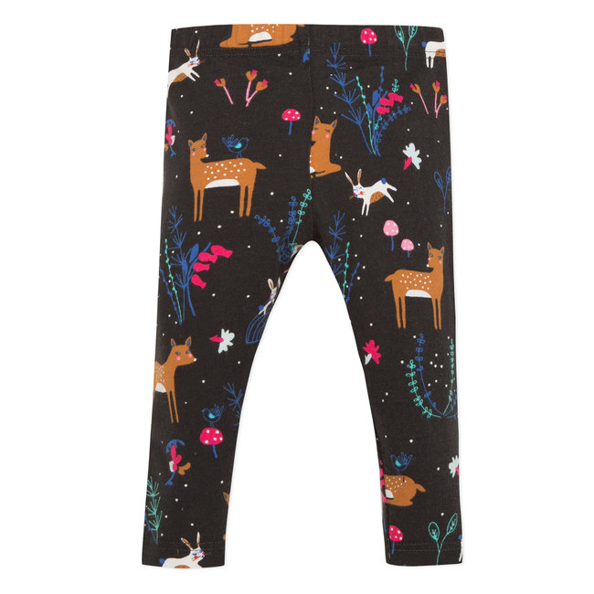 Deer print leggings