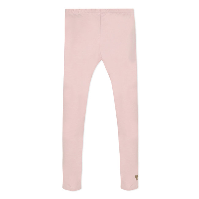 Plain powder pink leggings