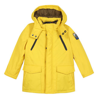 2 in 1 sleeveless parka and puffa jacket