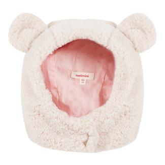 Bonnet in faux sheepskin