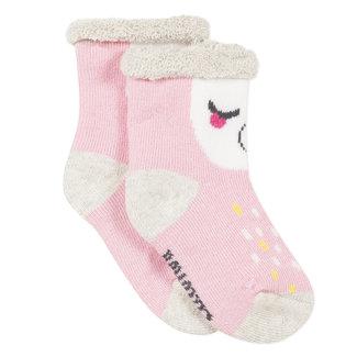 Llama jacquard terry socks