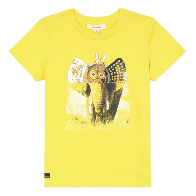 Boy's T-shirt with elephant motif